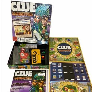 "CLUE Carnival ""The Case Of The Missing Prizes"""